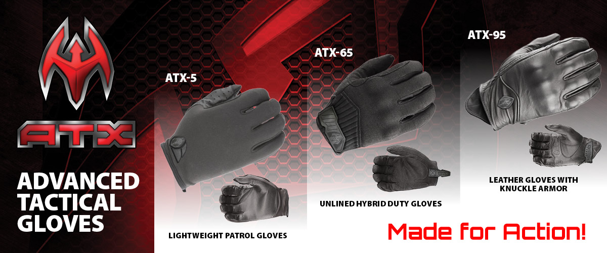 ATX Advanced Tactical Gloves from Damascus Gear