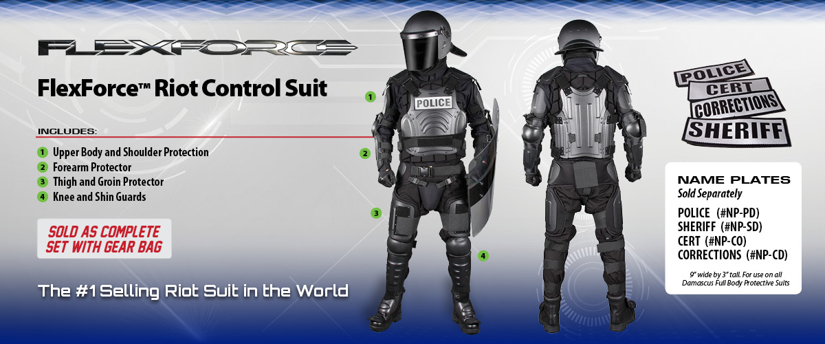 FX1 Riot Suit from Damascus Gear