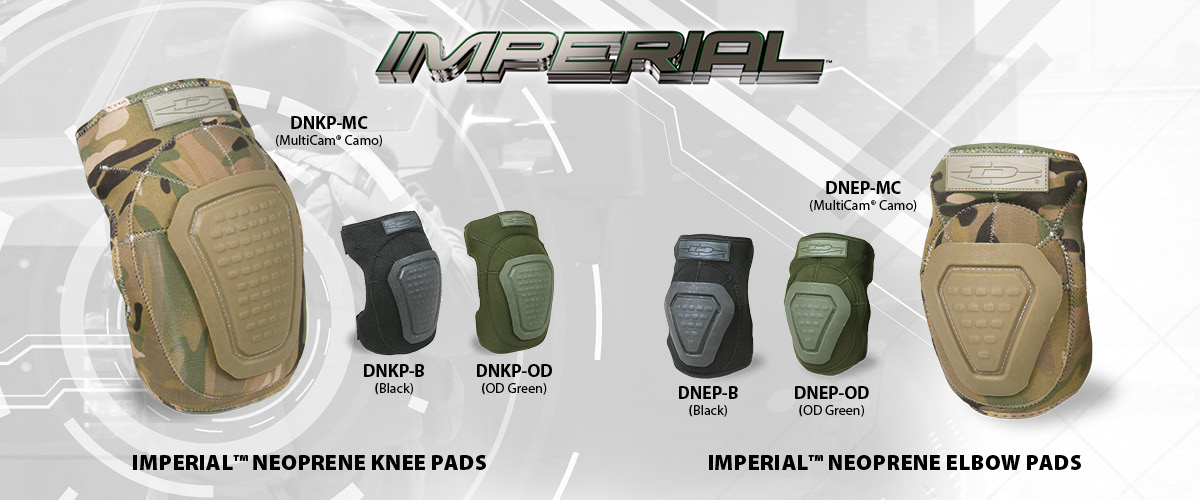 Imperial Neoprene Tactical Pads from Damascus Gear